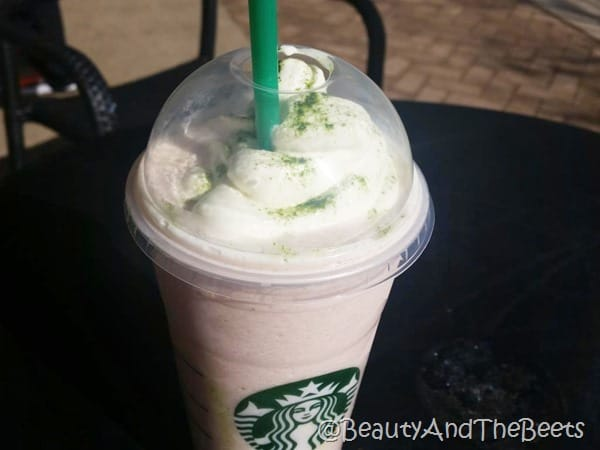 Starbucks Cherry Blossom Frappuccino Beauty and the Beets