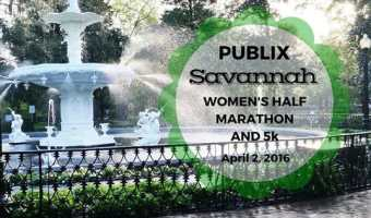 2016 Publix Savannah Women's Half Marathon and 5K