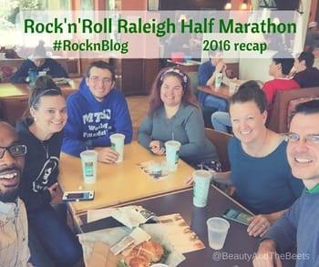 #RocknBlog RocknRoll Raleigh Half Marathon Beauty and the Beets (1)