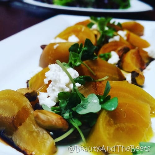 Seasons 52 Golden Beets Beauty and the Beets
