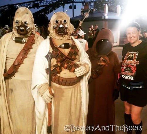 Star Wars Half Marathon Beauty and the Beets
