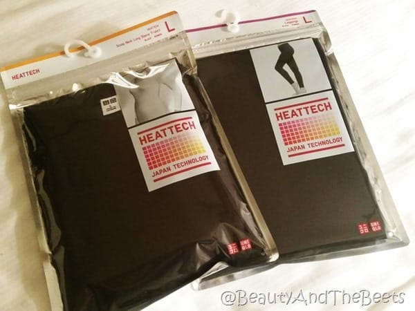 Uniqlo Heattech Beauty and the Beets