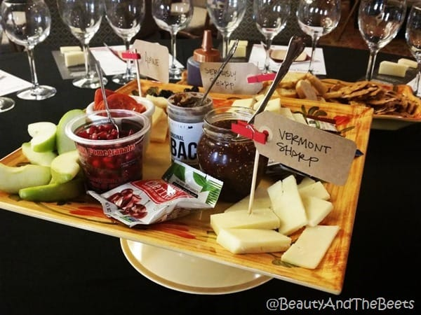 Cabot Cheese appetizer ingredients #FWCon Beauty and the Beets