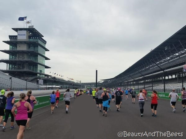 running the speedway IndyMini Beauty and the Beets