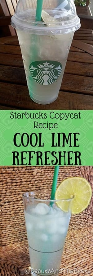 Starbucks Copycat Recipe Cool Lime Refresher