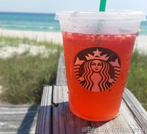 Strawberry Acai Refresher Panama City Beach Beauty and the Beets