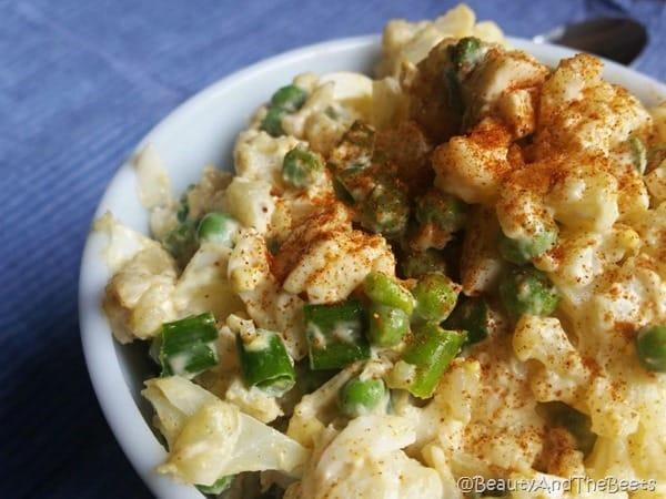 Cauliflower 'Potato' Salad Beauty and the Beets (2)