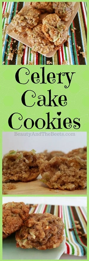 Celery Cake Cookies recipe by Beauty and the Beets