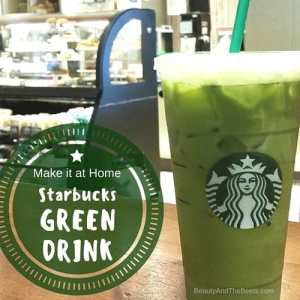 Starbucks Green Drink recipe Beauty and the Beets