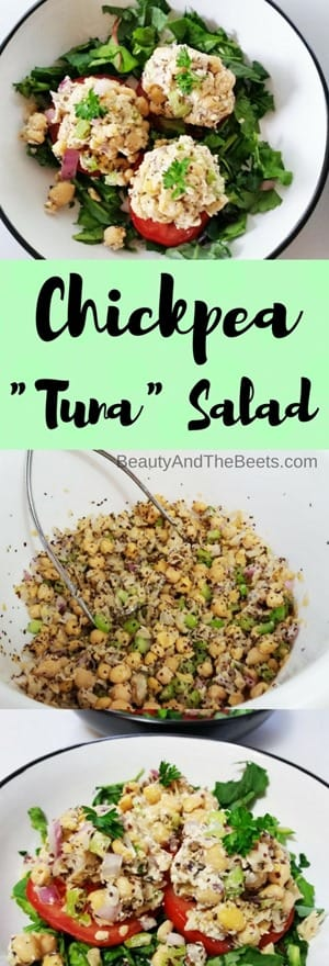 "Chickpea ""Tuna"" Salad Beauty and the Beets"