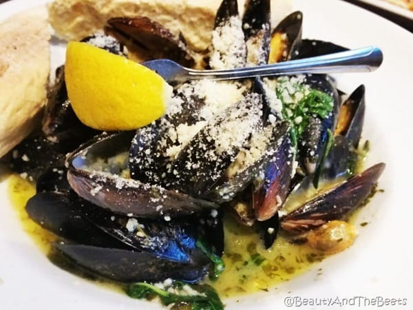 Duffy's Sports Grill Beauty and the Beets Prince Edward Island Mussels