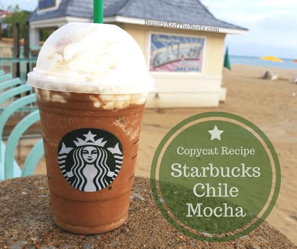 Beauty and the Beets copycat recipe Starbucks Chile Mocha