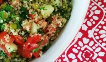 Lentil Quinoa Tabbouleh