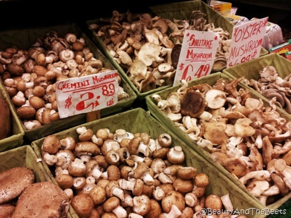 Mushrooms Chelsea Market Beauty and the Beets
