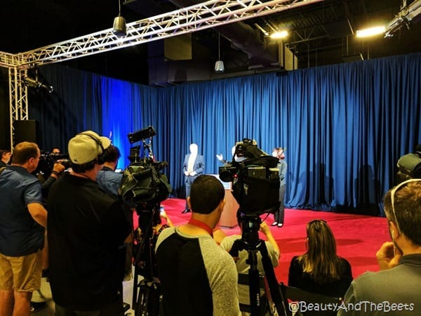 Donald Trump Press conference Madame Tussauds Orlando Beauty and the Beets