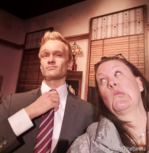 Neil Patrick Harris Madame Tussauds Orlando Beauty and the Beets