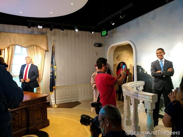 Presidents Madame Tussauds Orlando Beauty and the Beets