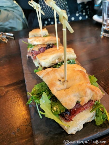 Focaccia Sandwich Tapa Toro Orlando Beauty and the Beets