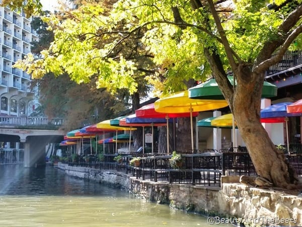 Umbrella Riverwalk San Antonio Beauty and the Beets