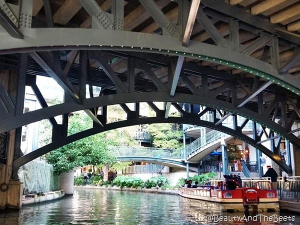 bridges San Antonio Riverwalk Beauty and the Beets
