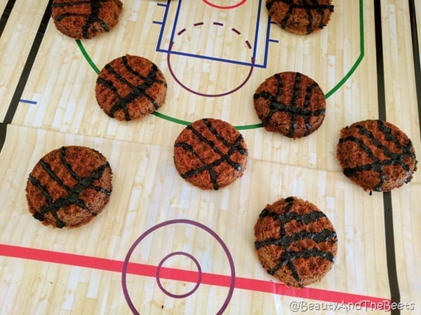 Foodstirs Basketball Cookies Beauty and the Beets (10)