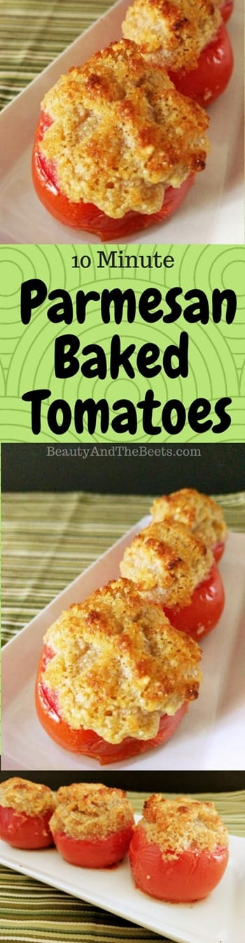 Parmesan Baked Tomatoes Beauty and the Beets