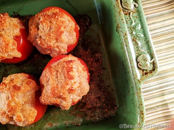 Parmesan Baked Tomtoes Beauty and the Beets (8)