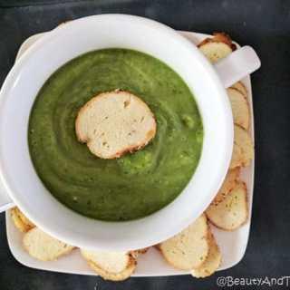 It's Easy Being Green Gazpacho