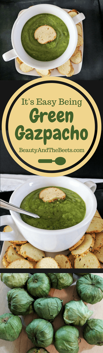 Green Gazpacho from Beauty and the Beets