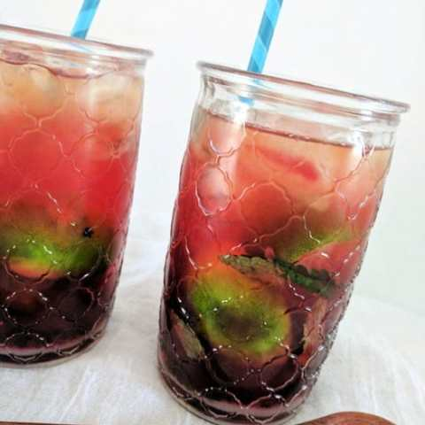 Blackberry Mojito Iced Tea – non alcoholic