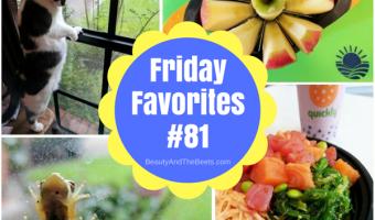 Friday Favorites #81
