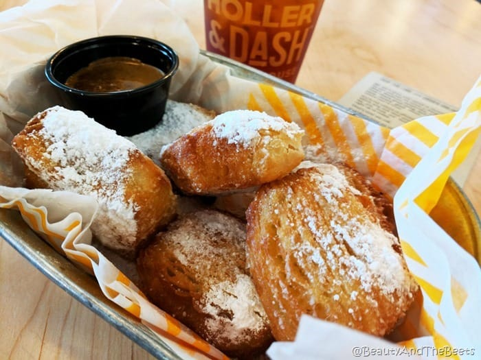 Beignets Holler and Dash Beauty and the Beets