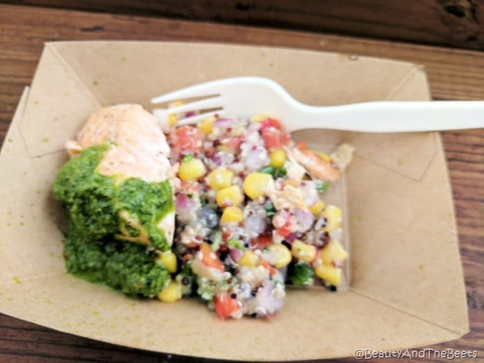 Roasted Verlasso Salmon Epcot Food and Wine Festival 2017 Beauty and the Beets