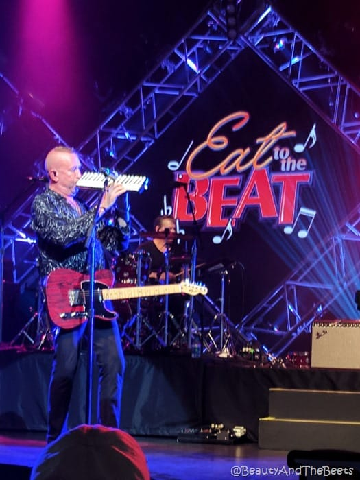 The Hooters Eat to the Beat Concert Series Epcot Food and Wine Festival 2017 Beauty and the Beets 1