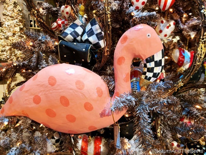 MacKenzie Childs flamingo Beauty and the Beets