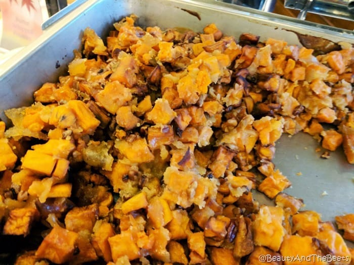 candied sweet potato Sea Pines Resort Thanksgiving Beauty and the Beets