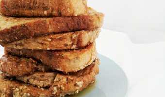 Cashew Vegan French Toast