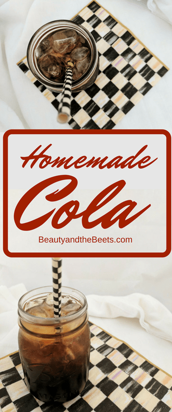 Homemade Cola Beauty and the Beets