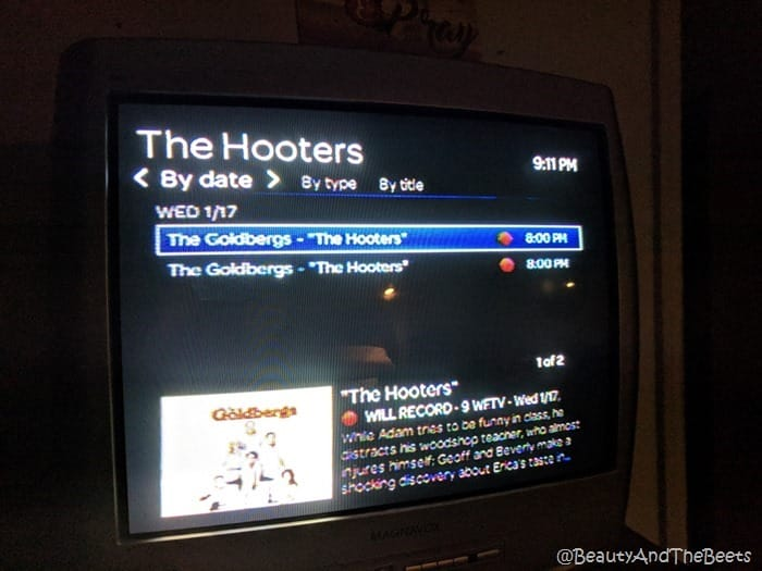 The Hooters on The Goldbergs Beauty and the Beets