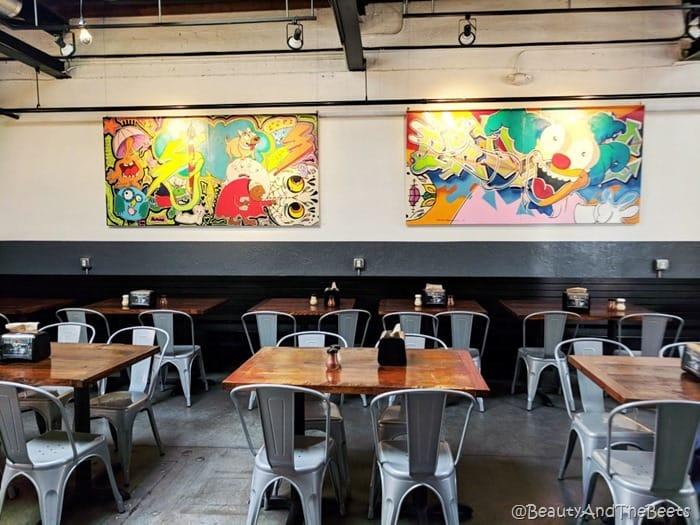 Papa Kenos Pizzeria Art Kansas City Beauty and the Beets