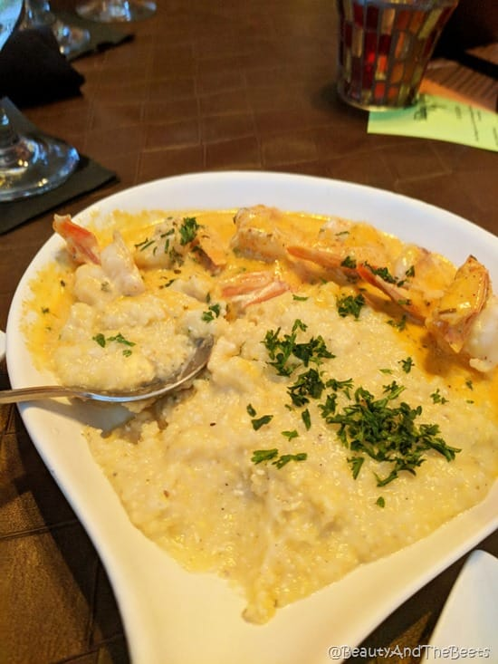 Shrimp and Grits The Chefs Table Winter Garden Food Tours Beauty and the Beets