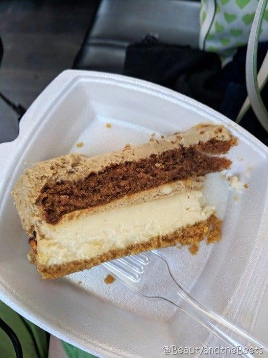 #FarmFoodTour Kansas Beauty and the Beets sweet potato cheesecake