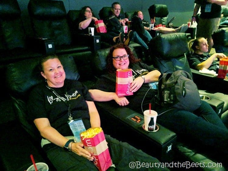 Branson IMAX Theater VIP seating Beauty and the Beets