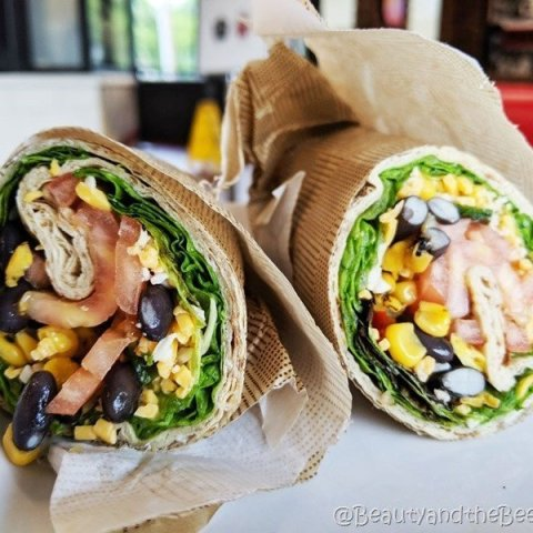 Chick fil A Vegetarian wrap