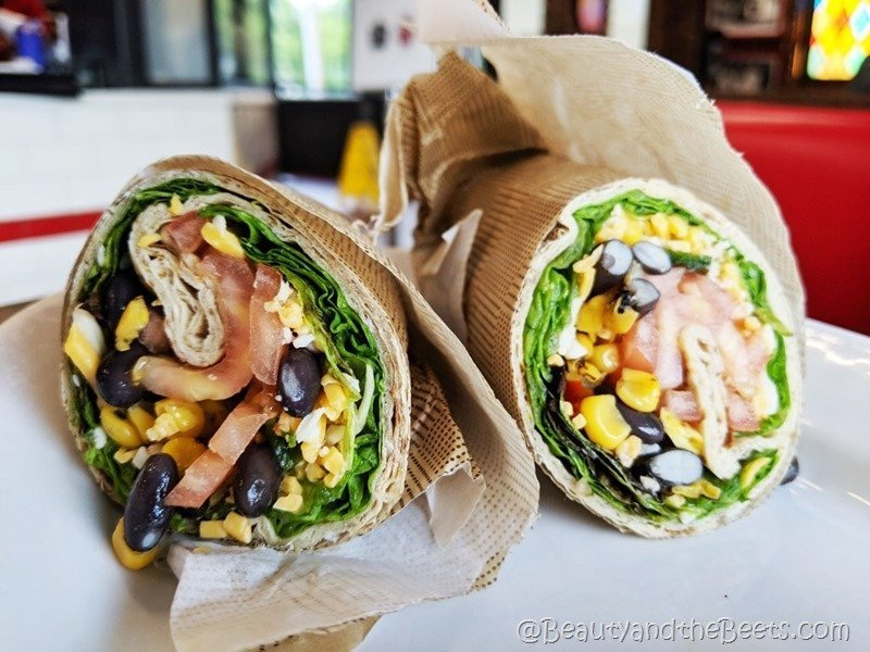 Vegetarian Wrap Chick Fil A Beauty and the Beets