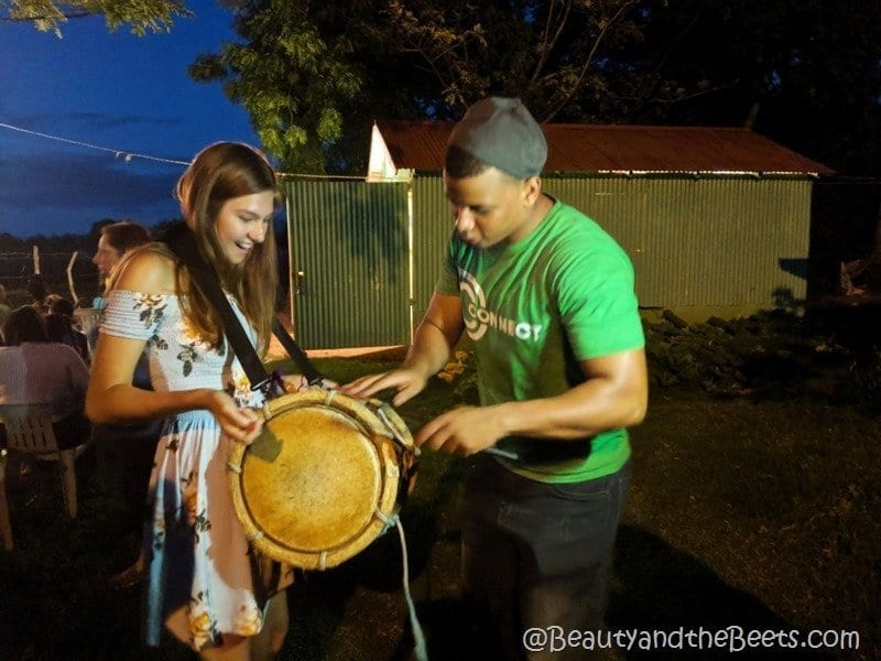 Bongo drums Discovey Church Orlando Dominican Republic Beauty and the Beets