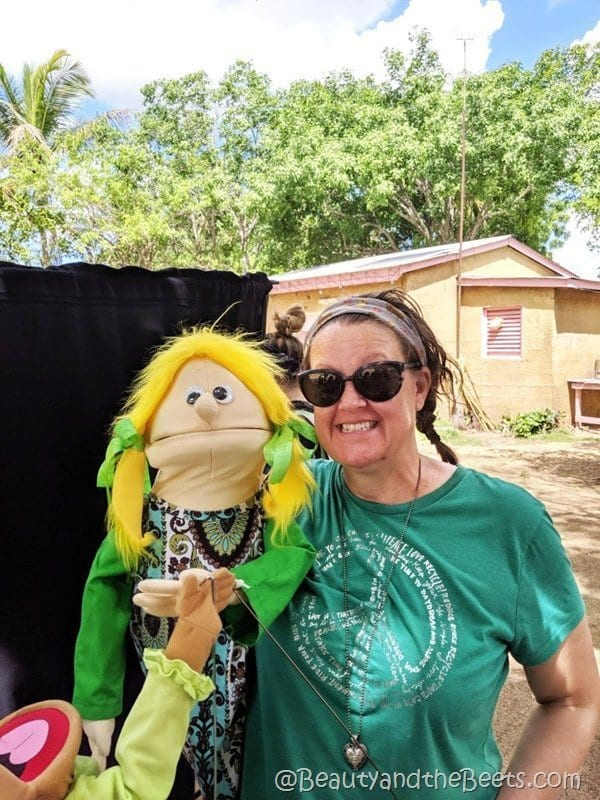 Discovery Church Orlando mission trip Soozie the puppet Beauty and the Beets