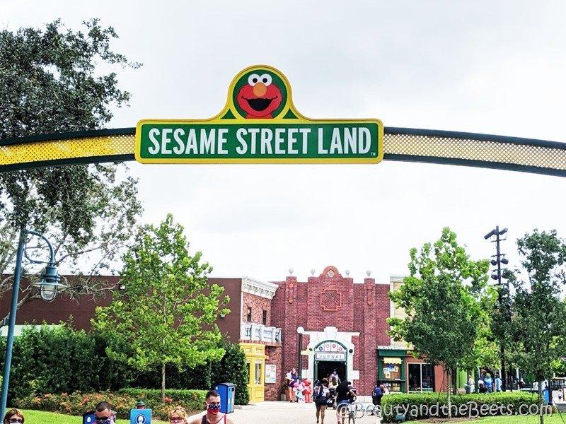 Sesame Street Land Sea World Orlando Beauty and the Beets