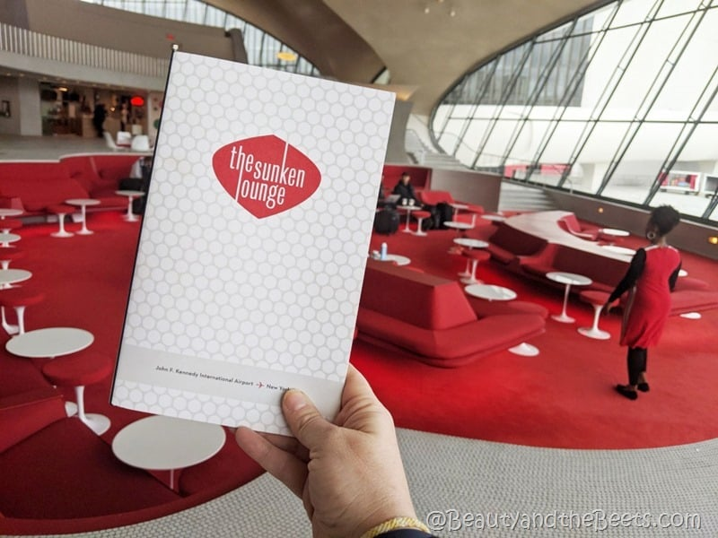 The Sunken Lounge TWA Hotel Beauty and the Beets
