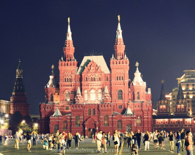 State Historical Museum, Red Square, Moscow